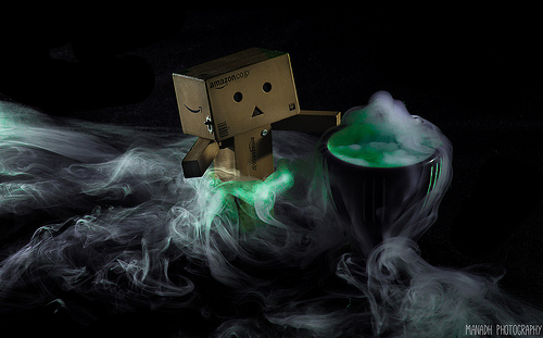 Cooking up a potion