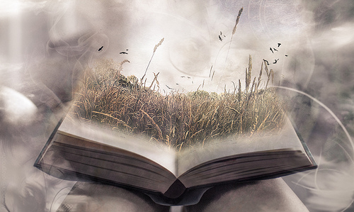 When a book comes to life