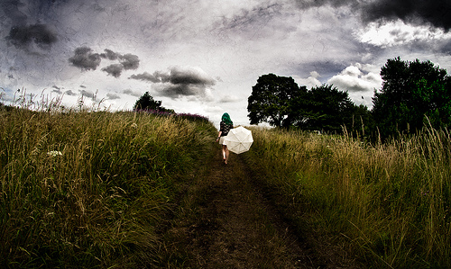 Heading towards a storm