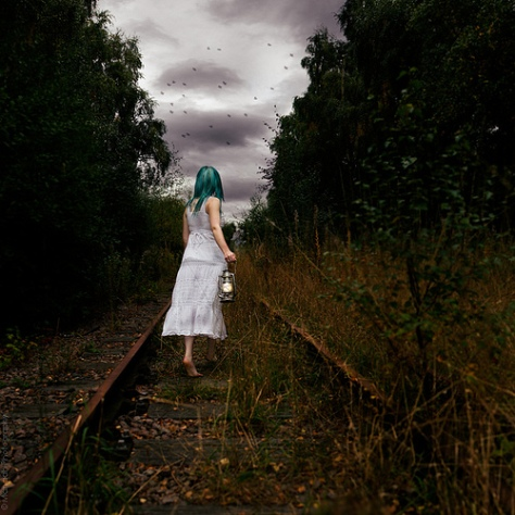 Down by the train tracks