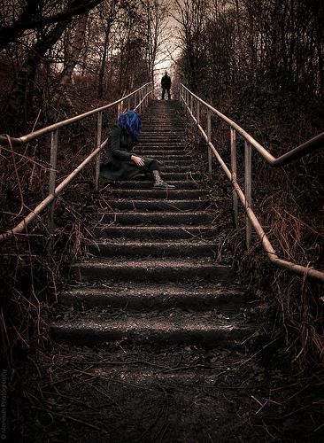 The steep uphill struggle